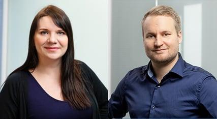 Heeros Tiia Paananen ja Henri Liuska